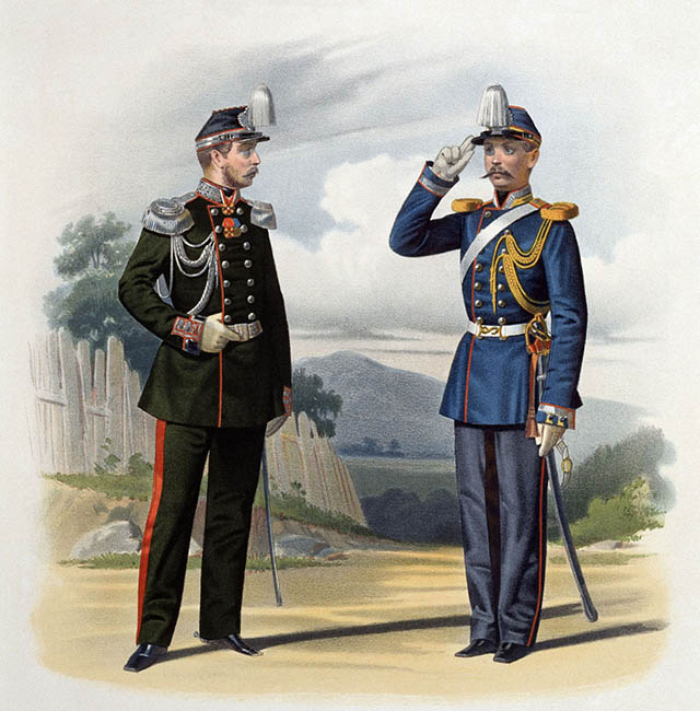 Униформа жандармов Российской империи