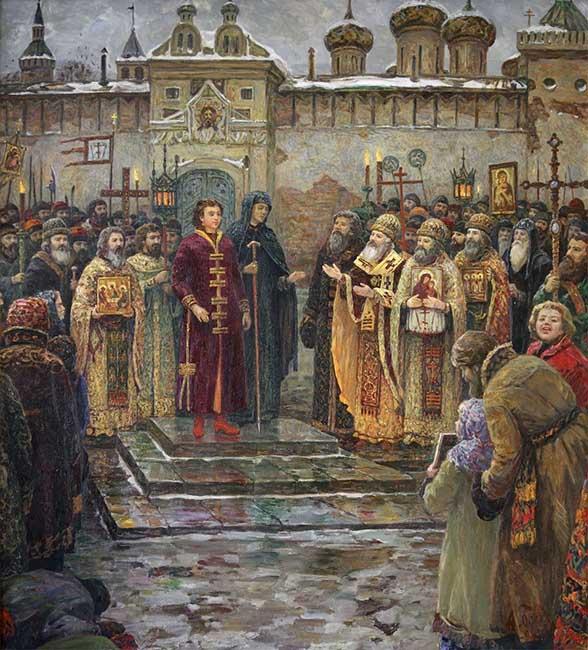 Венчание на царство Михаила Федоровича