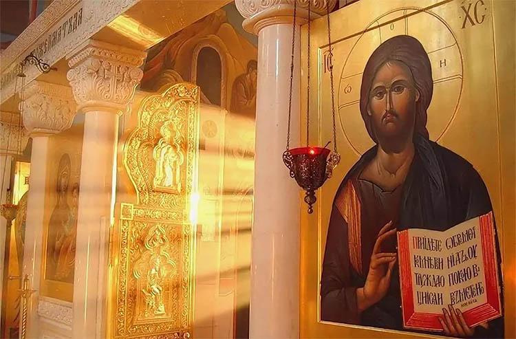 Господь Иисус Христос в храме
