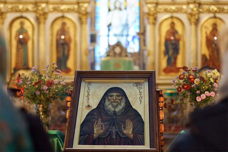 Икона преподобного Гавриила