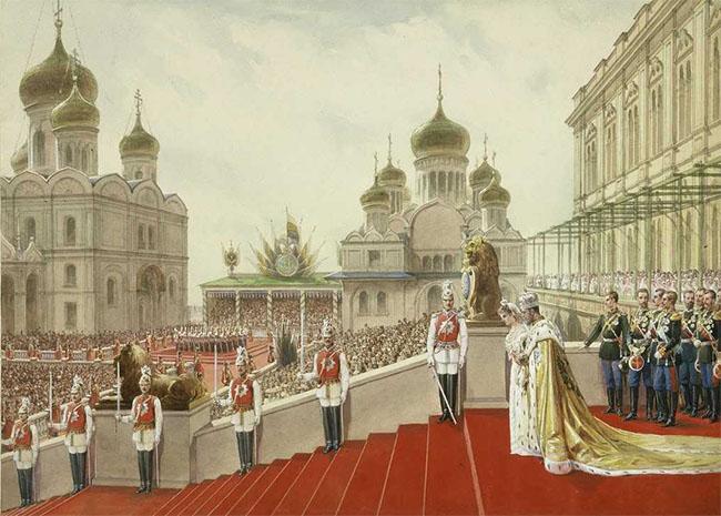 Коронация Императора Николая Второго