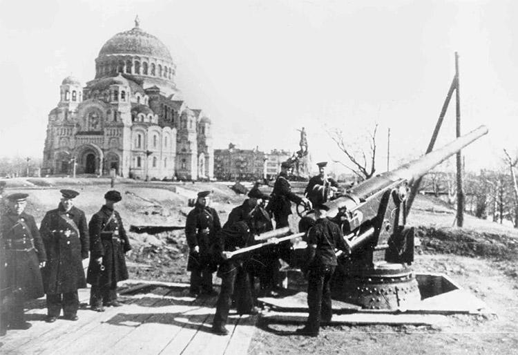Кронштадт в годы Великой Отечественной войны