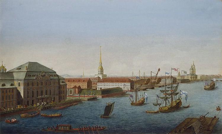 Молодой Санкт-Петербург (вид на Адмиралтейство)