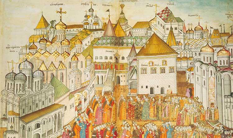 Московский Кремль при Иоанне III
