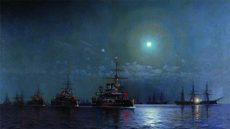 Освещение на кораблях