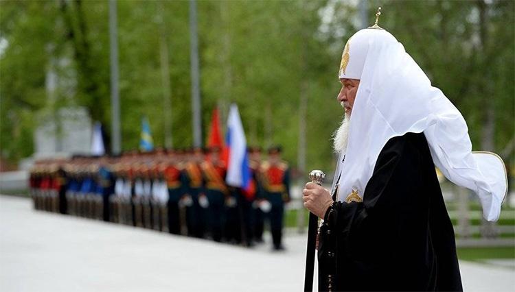 Патриарх Кирилл 9 мая