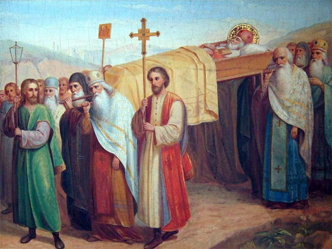 Перенесение мощей святого Николая Чудотворца