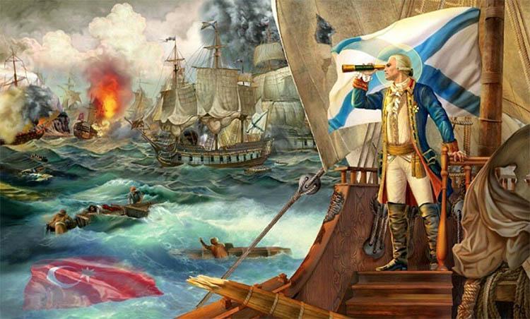 Святой адмирал Ушаков