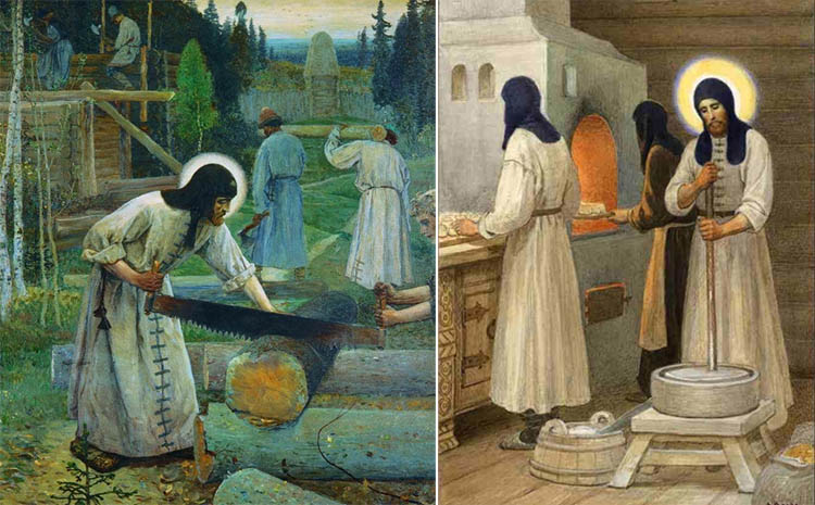 Труды преподобного Сергия Радонежского