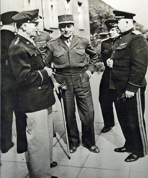 Участники подписания капитуляции. Реймс, 7 мая 1945 года