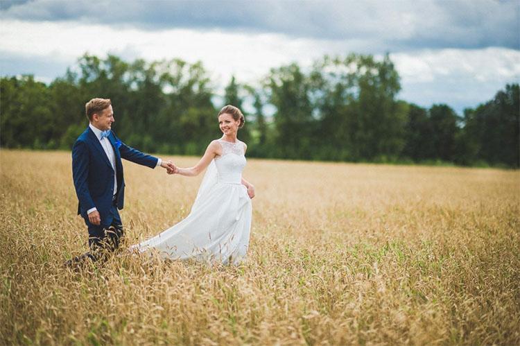 Жених и невеста, природа