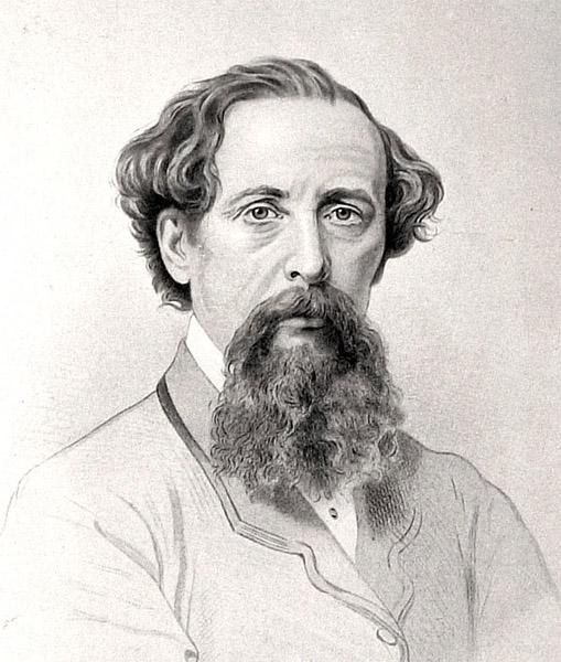 Чарльз Диккенс портрет