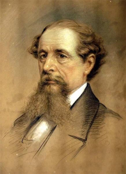 Диккенс портрет