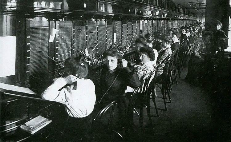 Дореволюционная телефонная станция