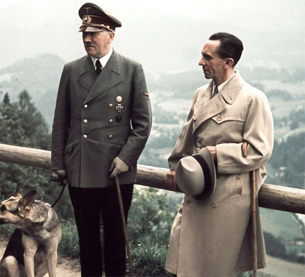 Геббельс и Гитлер