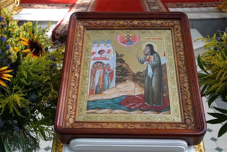 Икона святителя Василия епископа Рязанского в храме