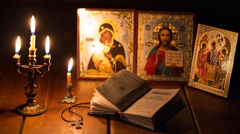 Иконы и молитвослов