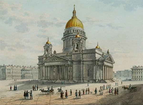 Исаакиевский собор XIX век