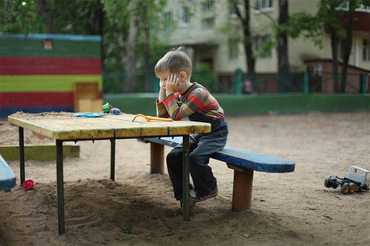 Мальчик в садике