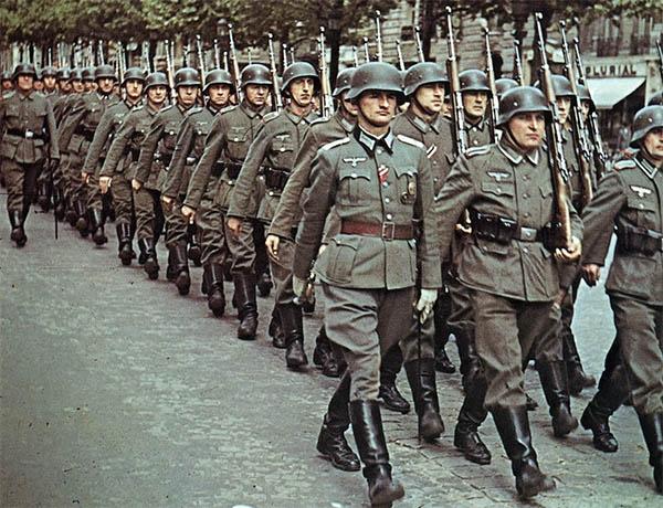 Немецкие солдаты