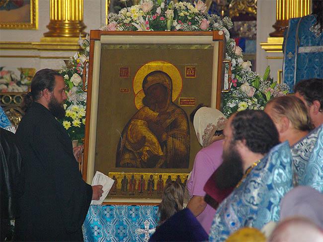 Оранская Владимирская икона Божией Матери