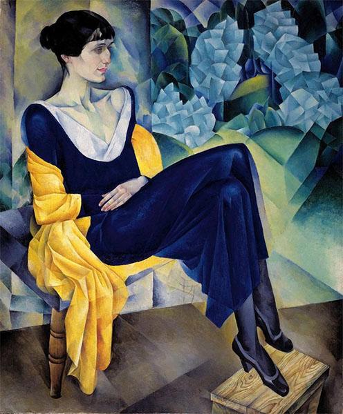 Портрет А. А. Ахматовой, 1914 год