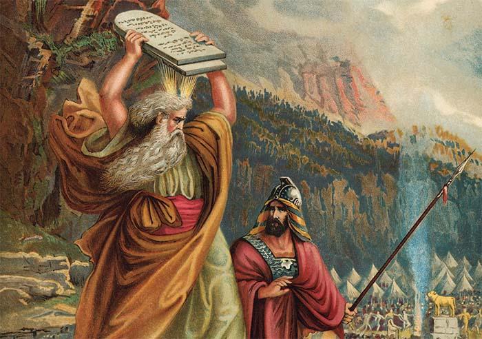 Пророк Моисей и золотой телец