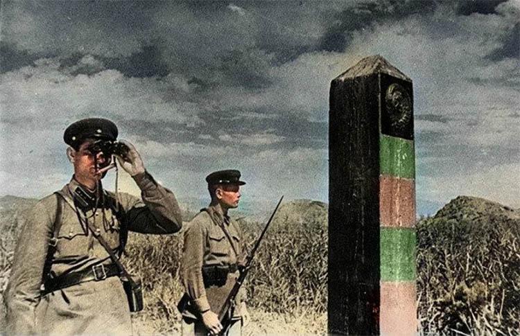 Советские пограничники