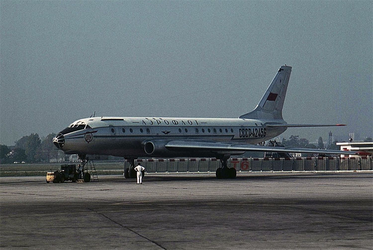 Ту-104А компании Аэрофлот