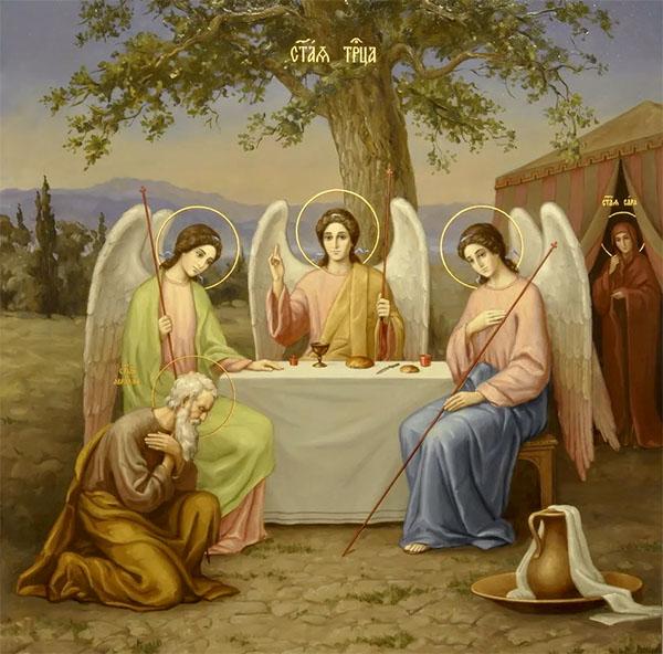 Явлении Святой Троицы Аврааму