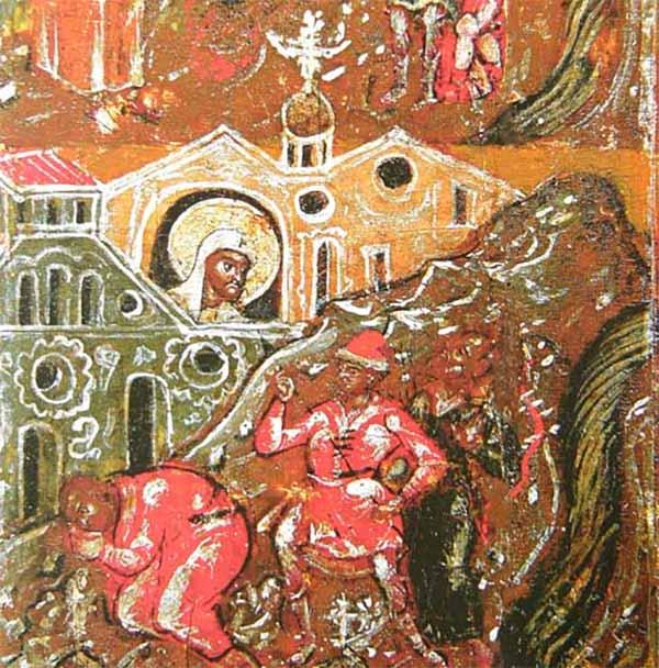 Язычники-ростовчане идут убивать святителя Леонтия