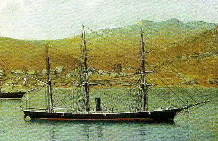 «Манджур» во Владивостоке
