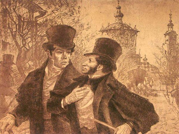 Баратынский и Пушкин