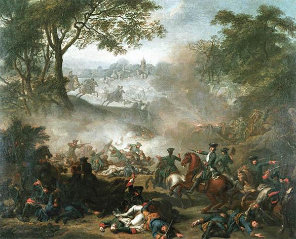 Битва при Лесной