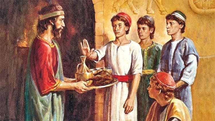 Даниил, Анания, Азария и Мисаил