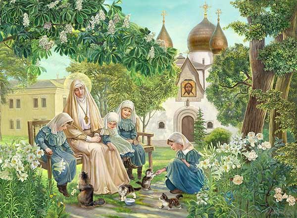 Елизавета Фёдоровна в Марфо-Мариинской обители