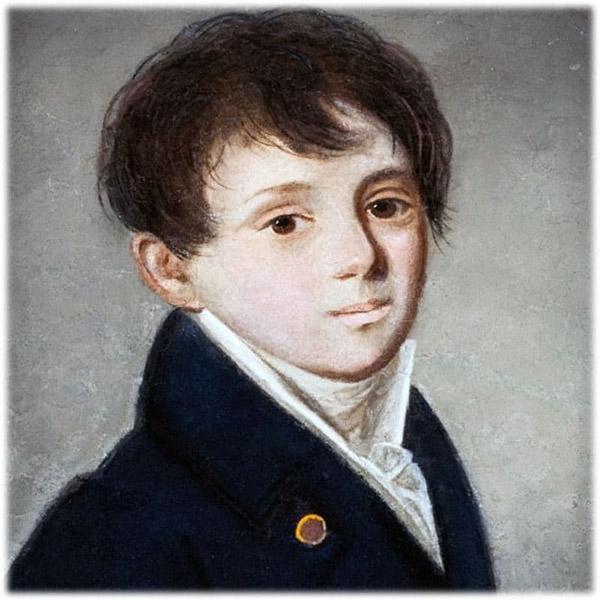 Евгений Баратынский в детстве