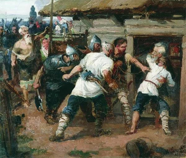 Федор и Иоанн - первые мученики на Руси