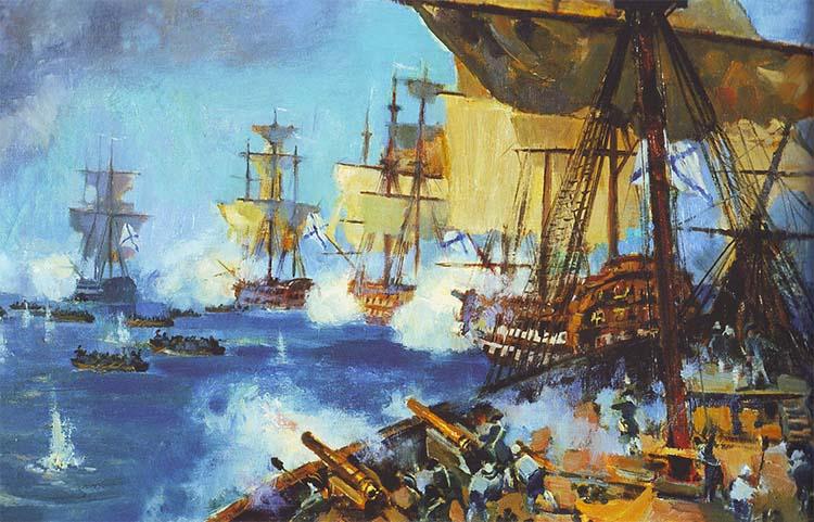 Флот Федора Ушакова