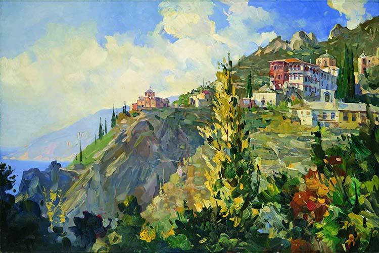 Гора Афон