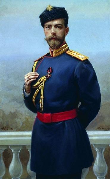 Государь Николай II в 1905 году