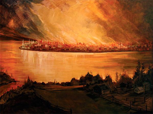 Иркутский пожар 1879 года