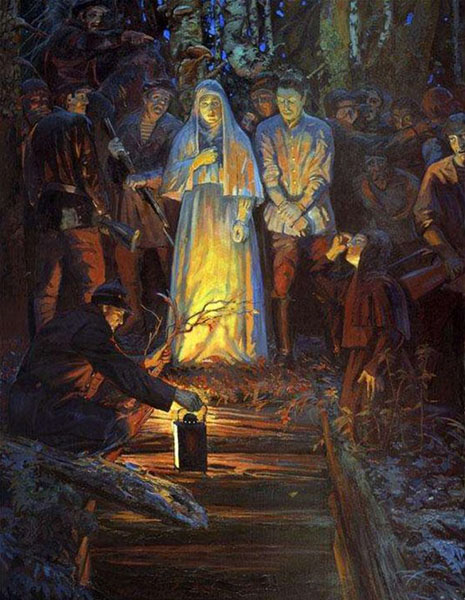 Мученики Алапаевской шахты