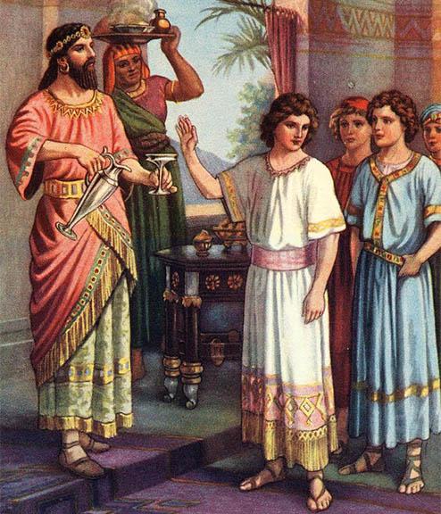 Отрок Даниил, Анания, Азария и Мисаил