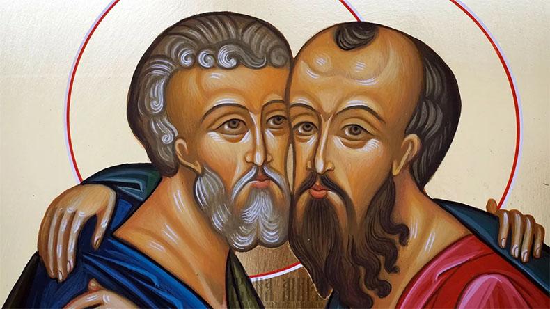 Первоверховные апостолы Павел и Пётр