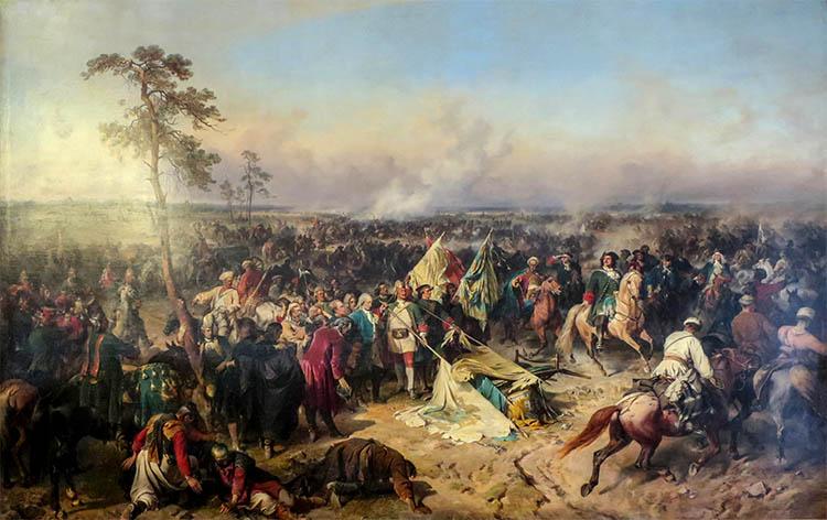 Победа в Полтавской битве