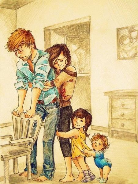 Поддержка в семье