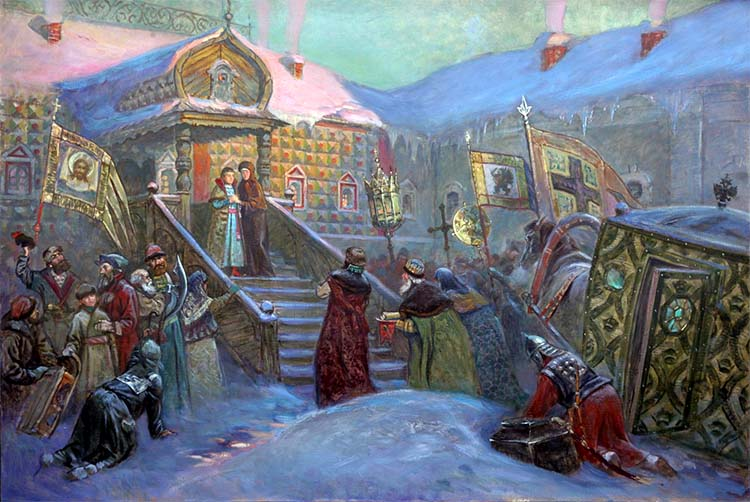 Призвание на царство Михаила Федоровича