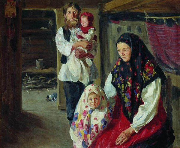 Русская крестьянская семья