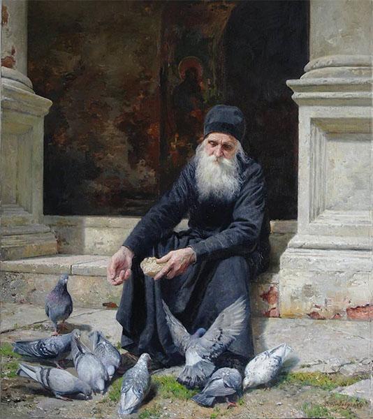 Старец-монах